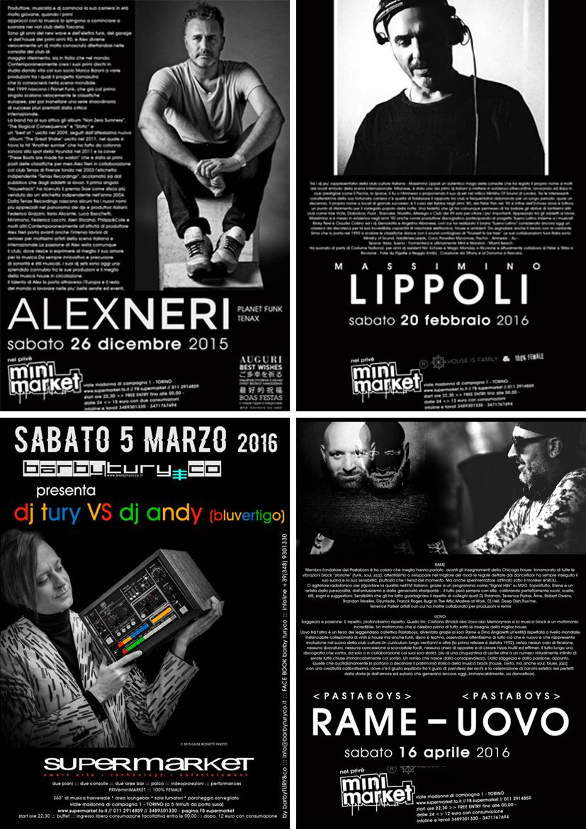 ebook reader night club milano e provincia